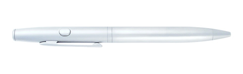(650nm) Class: IIIA - Writer's Laser Pen (Silver) - Click Image to Close